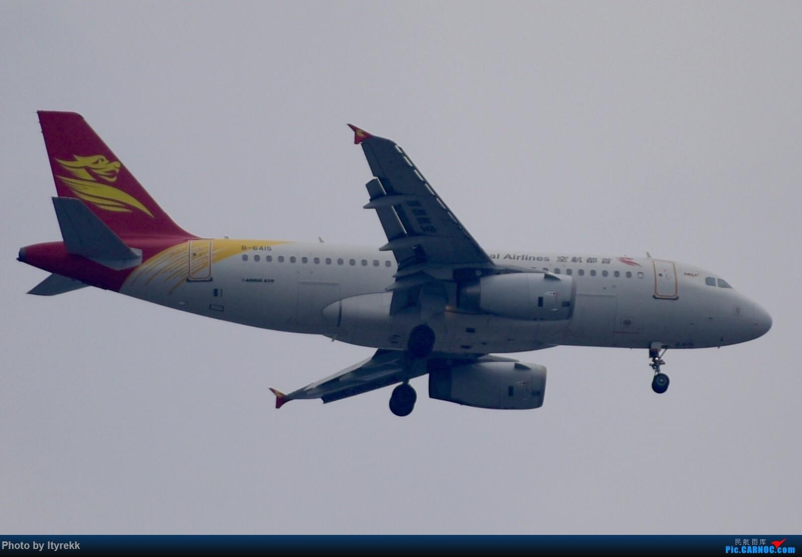 Re:[原创]6月的天气总是变化多端 AIRBUS A319-100 B-6415 中国芒市机场