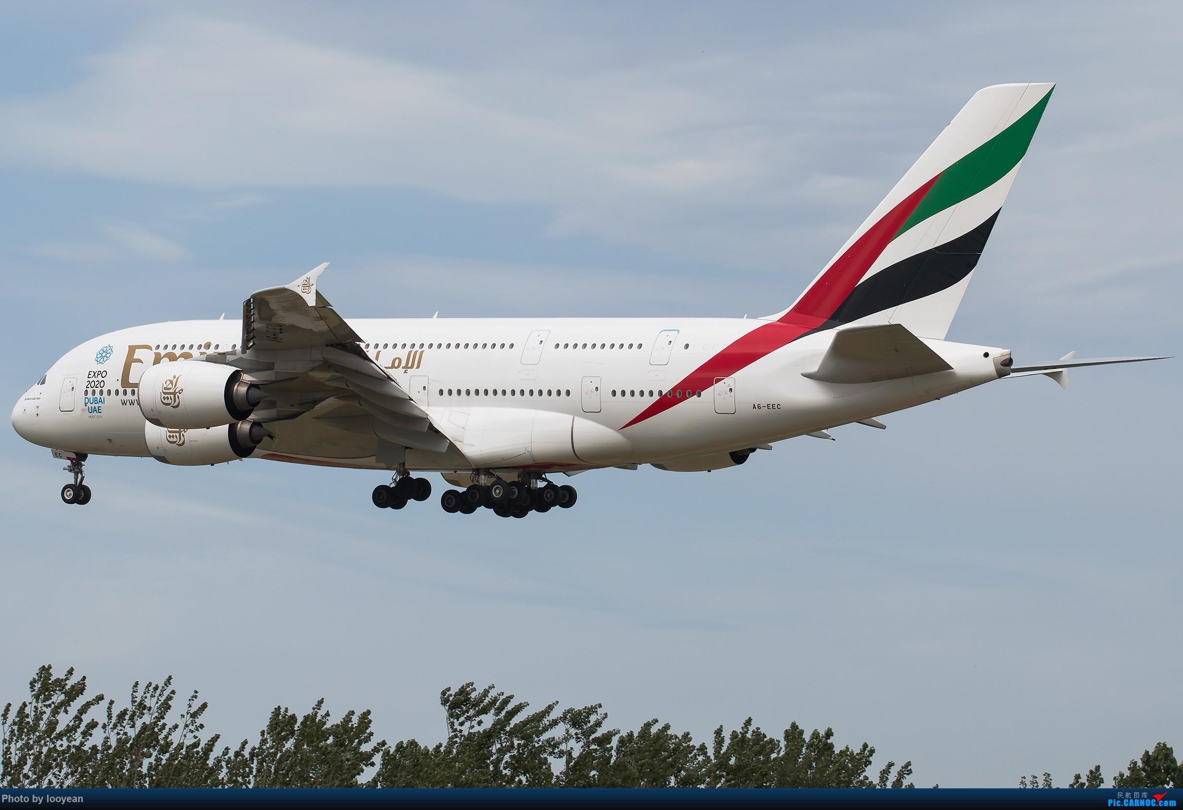 [原创][一图党]土豪A380 [2400*1600] AIRBUS A380-800 A6-EEC 中国北京首都国际机场