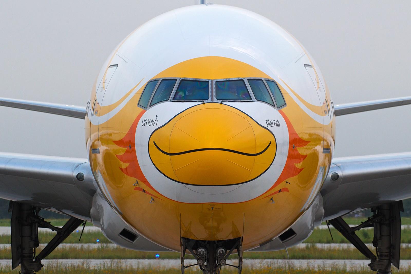 """[原创]【BLDDQ拖面条】******""""酷鸟""""来了----周六还有""""奥伦堡""""****** BOEING 777-200 HS-XBC 中国南京禄口国际机场"""