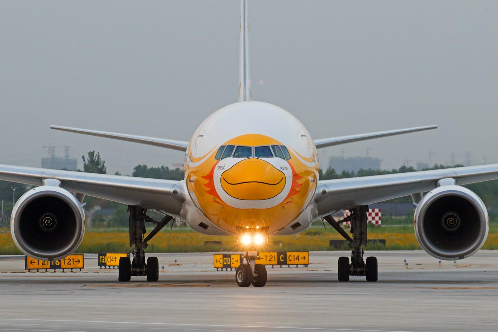 "Re:[原创]【BLDDQ拖面条】******""酷鸟""来了----周六还有""奥伦堡""****** BOEING 777-200 HS-XBC 中国南京禄口国际机场"
