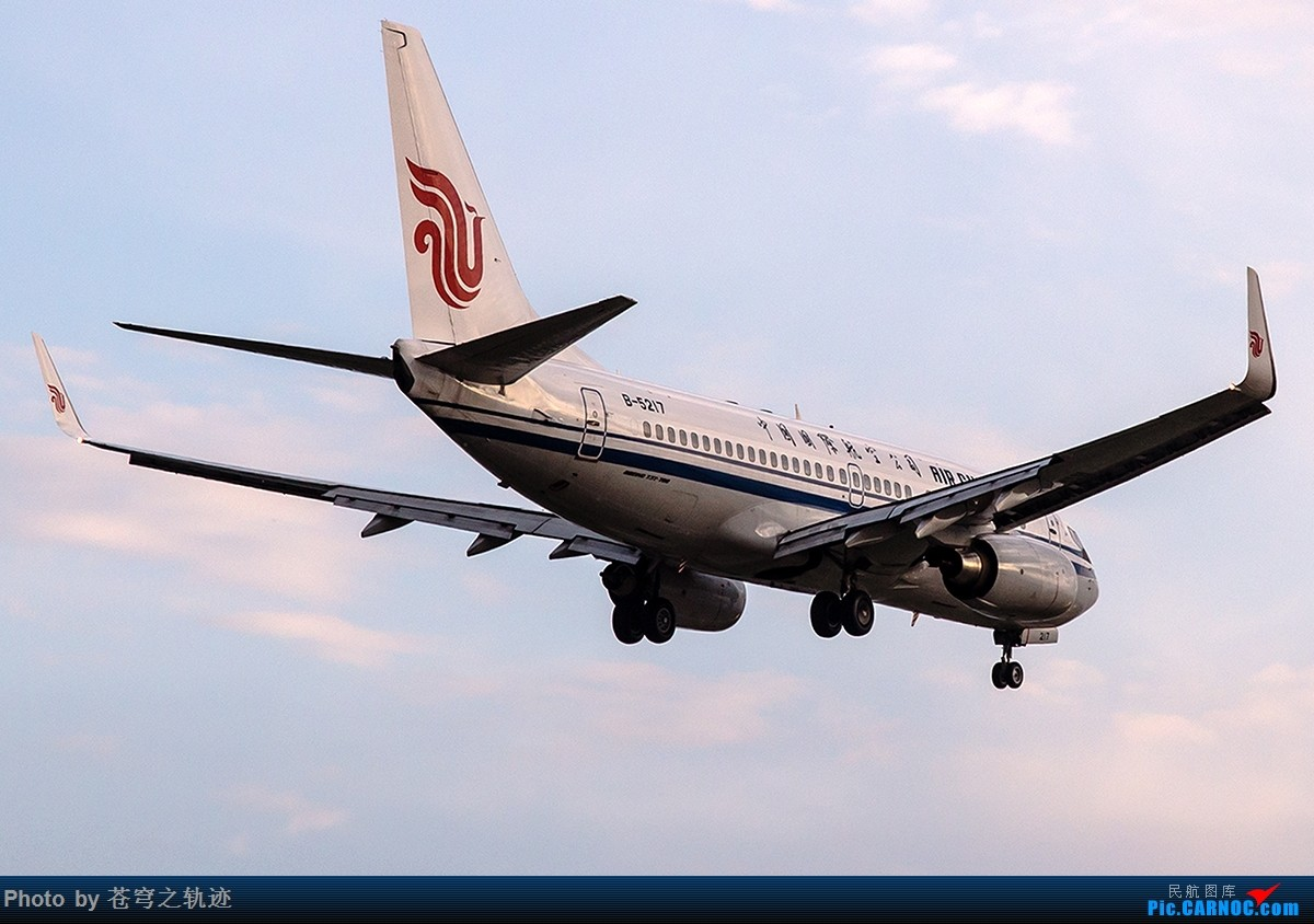 [原创]【一图党】CA737回家时 BOEING 737-700 B-5217 中国南京禄口国际机场