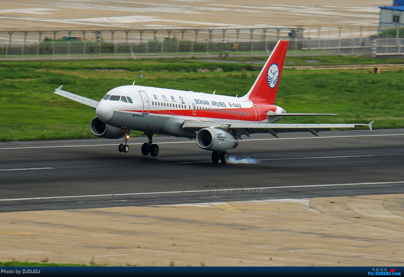 Re:[原创]【BLDDQ】6442 AIRBUS A319-100 B-6442 中国大连周水子国际机场