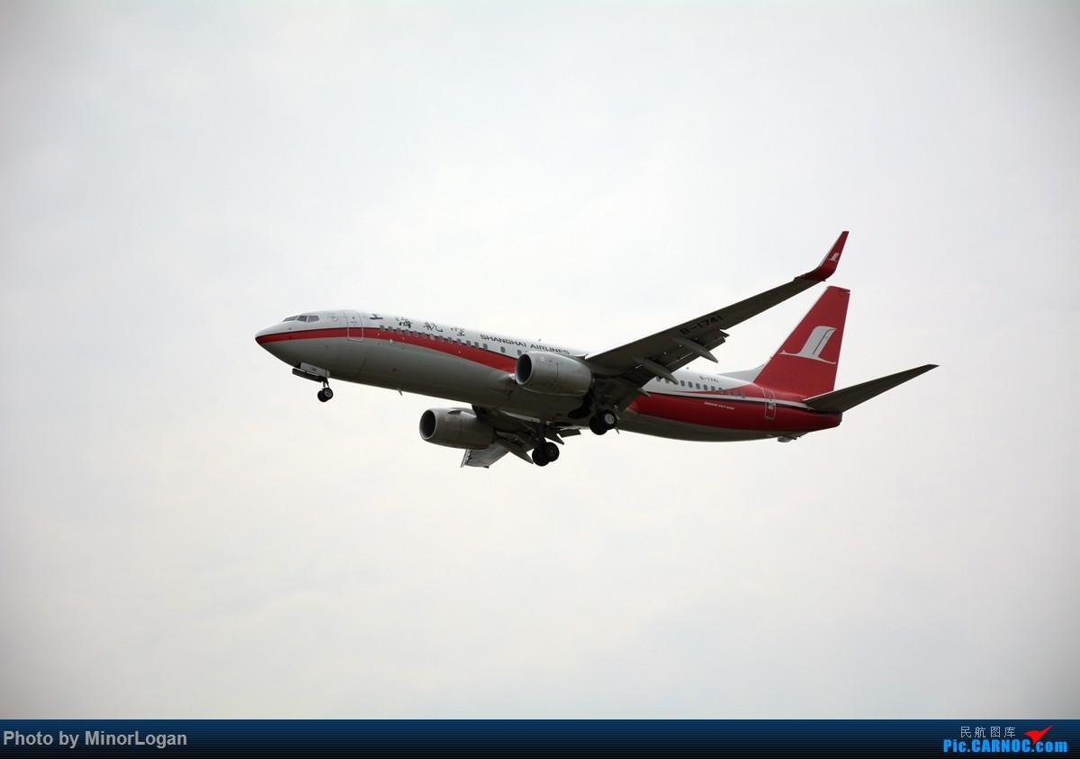 Re:[原创]主场在上海 BOEING 737-800 B-1741 上海浦东国际机场