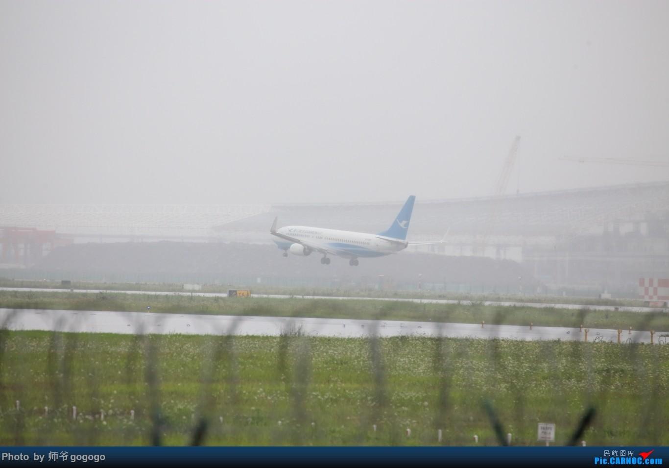 Re:[原创]雨天CKG处子行。 BOEING 737-800 B-5306 重庆江北国际机场
