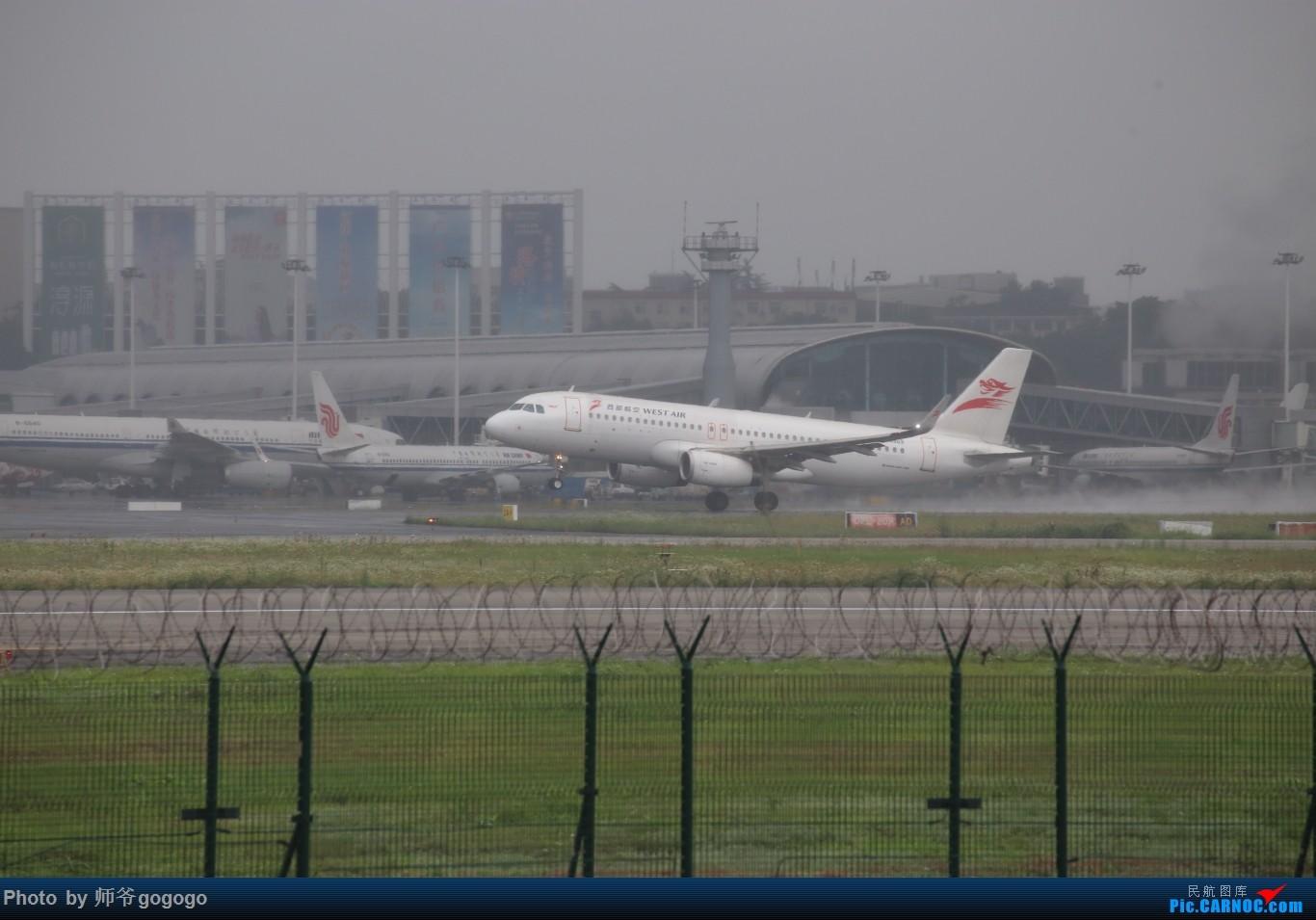 Re:[原创]雨天CKG处子行。 AIRBUS A320-200 B-9969 重庆江北国际机场