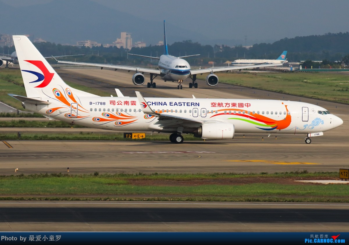 Re:[原创]杂图几张——今年一些广州深圳两个机场拍机作品 BOEING 737-800 B-1788 中国广州白云国际机场
