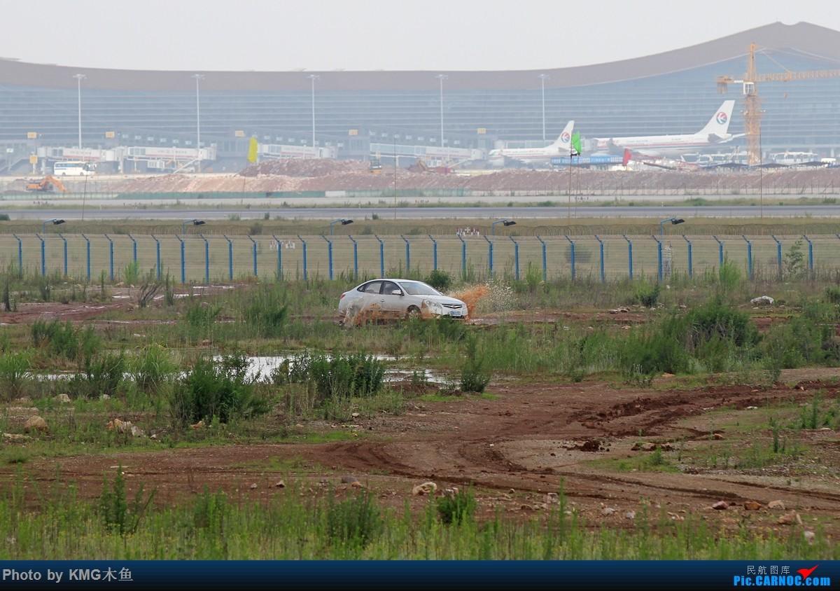 [原创]【KMG】【端午节上午昆明长水国际机场拍机】拍机还能遇到玩拉力车的人,真心高手呀!