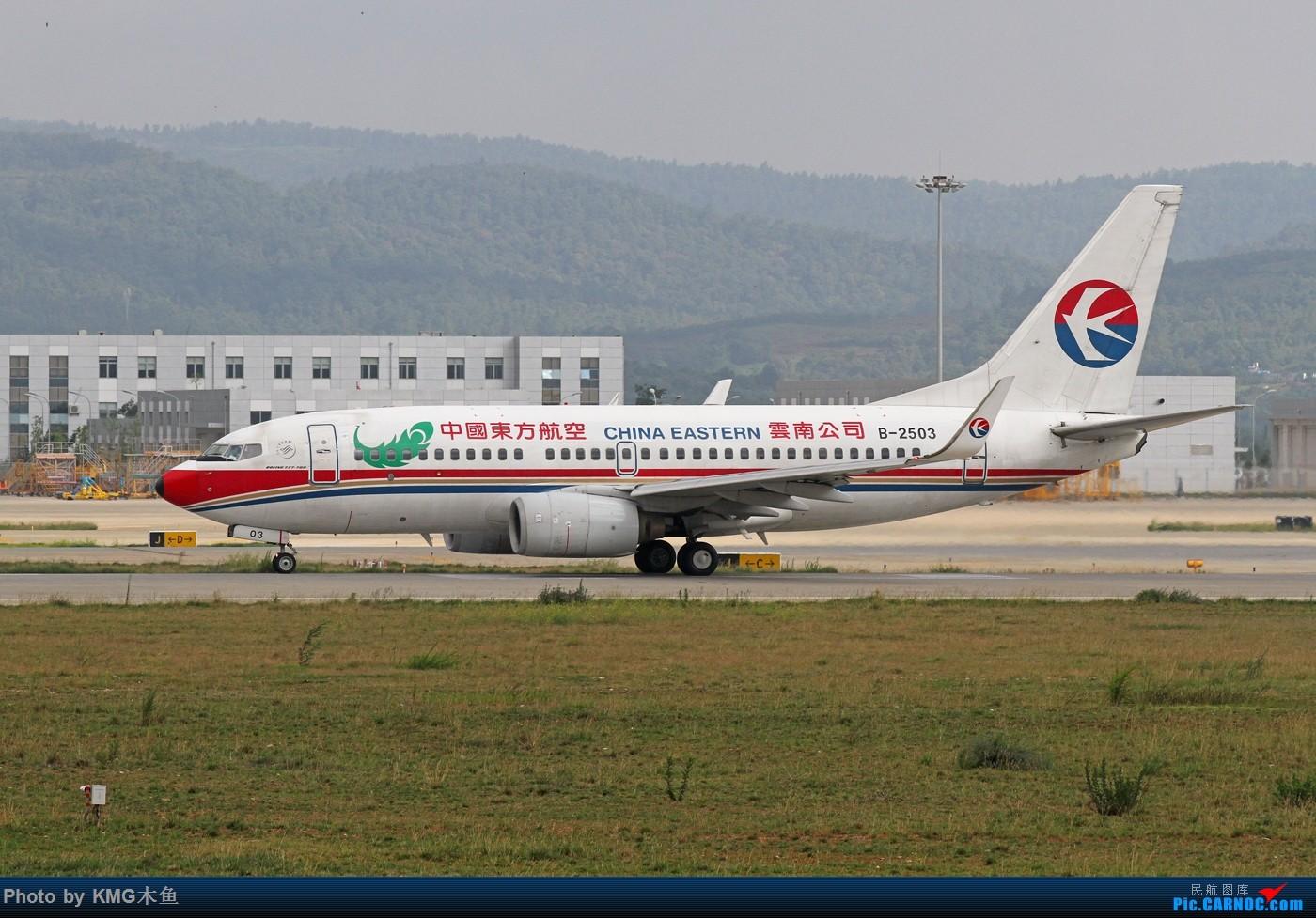 Re:[原创]【KMG】【端午节上午昆明长水国际机场拍机】拍机还能遇到玩拉力车的人,真心高手呀! BOEING 737-700 B-2503 中国昆明长水国际机场