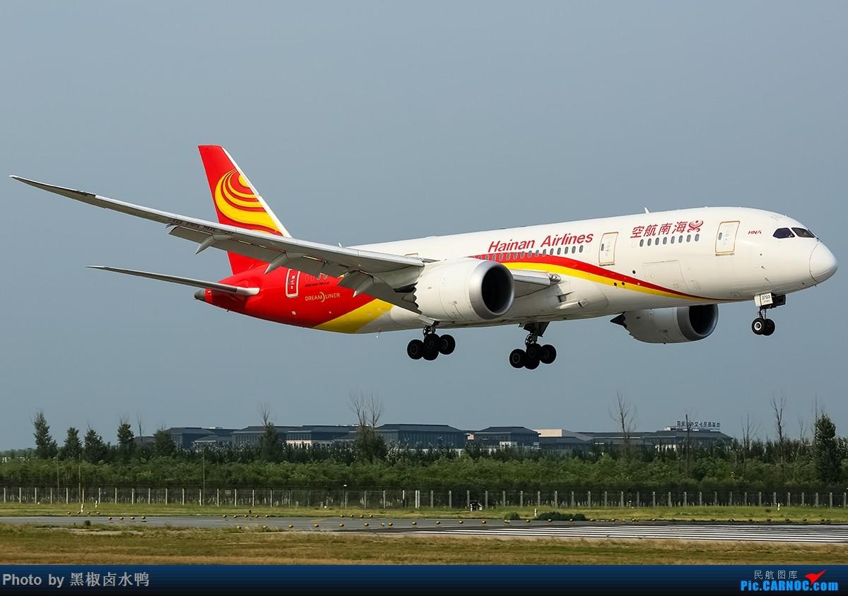 Re:[原创]我来北京是为了看飞机,拍飞机,和转机的 BOEING 787-8 B-2723 中国北京首都国际机场