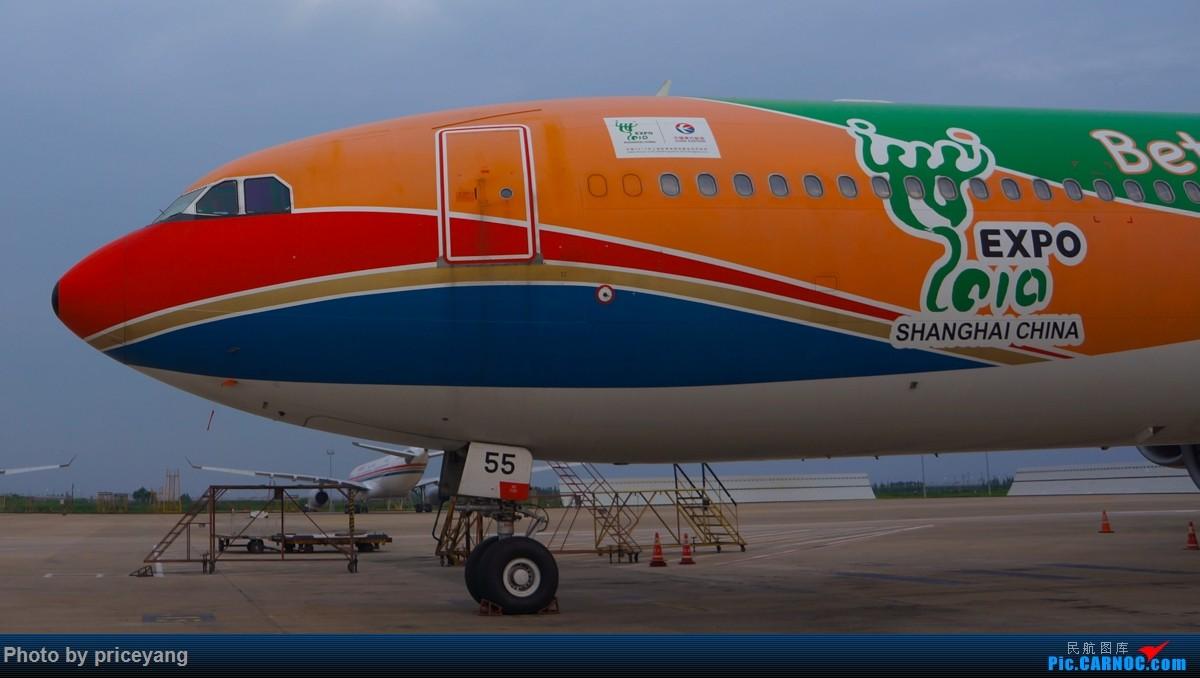 Re:[原创]浦东机场内场图 MD-11 B748 AN-124 各种停场的767 还有6055! AIRBUS A340-600 B-6055 中国上海浦东国际机场