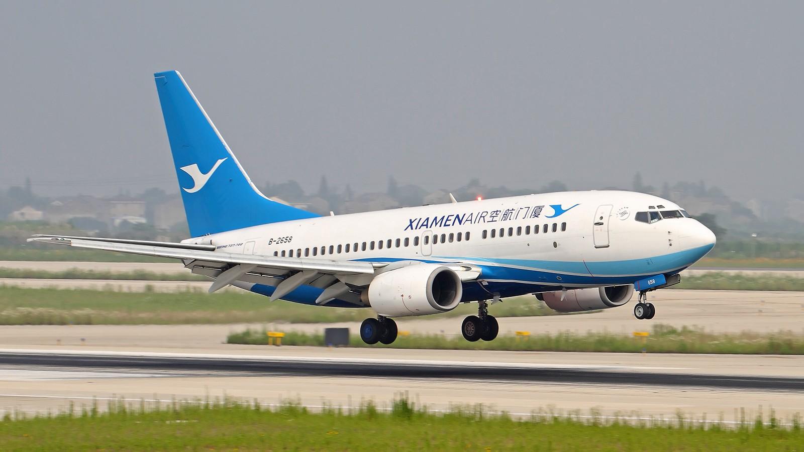 [原创]端午节去拍了半小时就被领导夺命追魂call了~ BOEING 737-700 B-2658 中国南京禄口国际机场