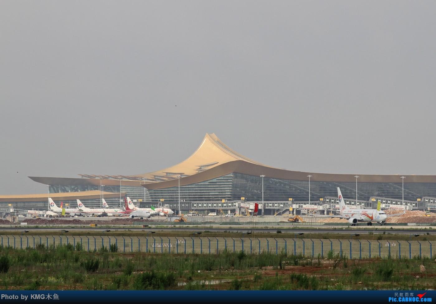 [原创]【KMG】【长水机场一窝雀】2015年端午节拍摄长水机场东航云南分公司的孔雀涂装    中国昆明长水国际机场