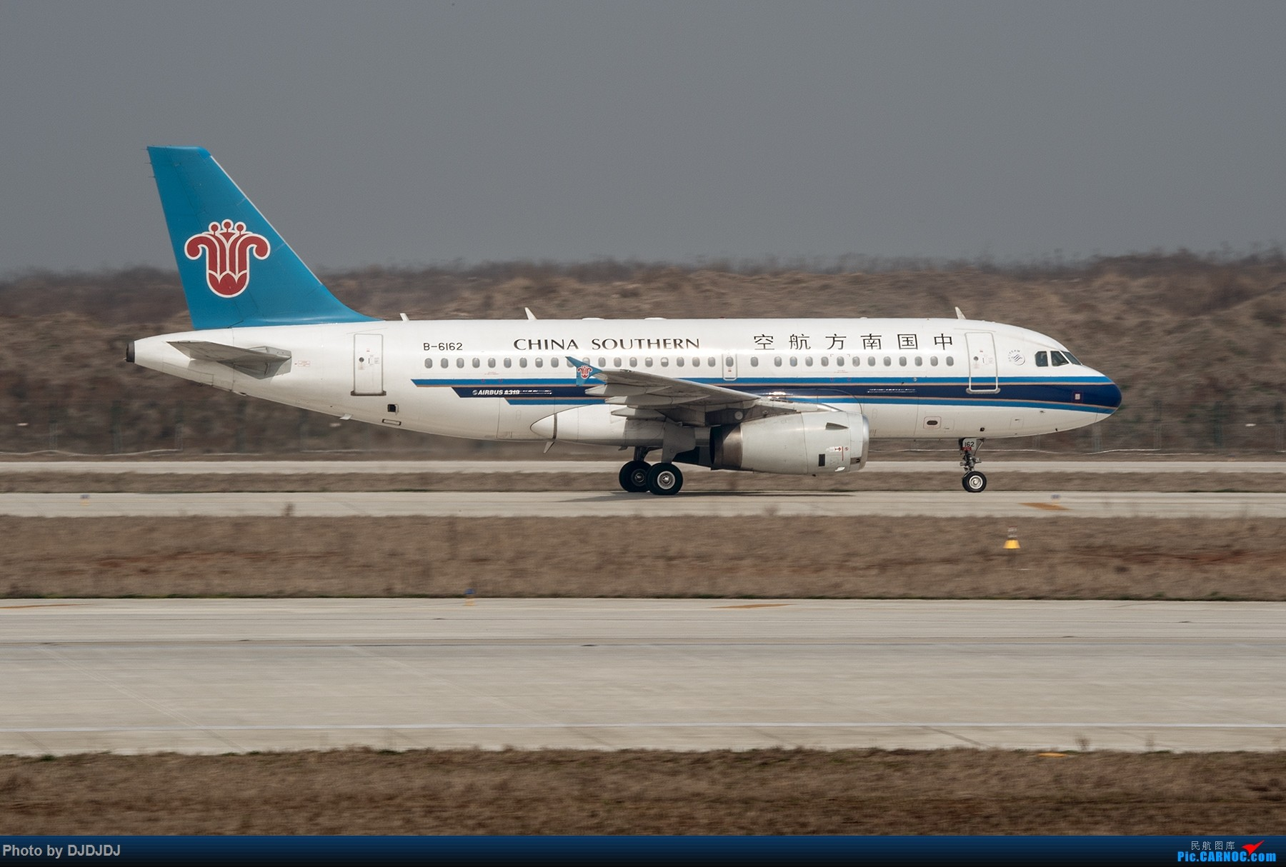 [原创]【BLDDQ】胶片感觉,乐凯的,保定的 AIRBUS A319-100 B-6162 中国南京禄口国际机场