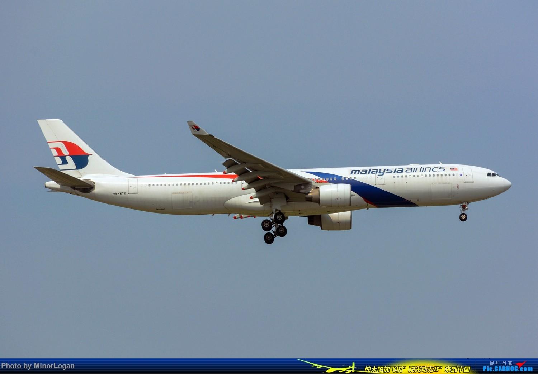 晴间多云,浦东拍机 AIRBUS A330-200 9M-MTD 上海浦东国际机场
