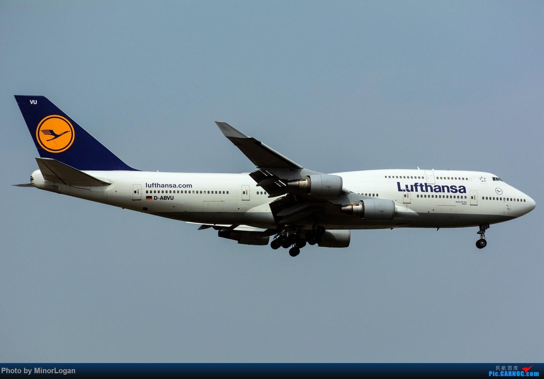 Re:[原创]晴间多云,浦东拍机 BOEING 747-400 D-ABVU 上海浦东国际机场