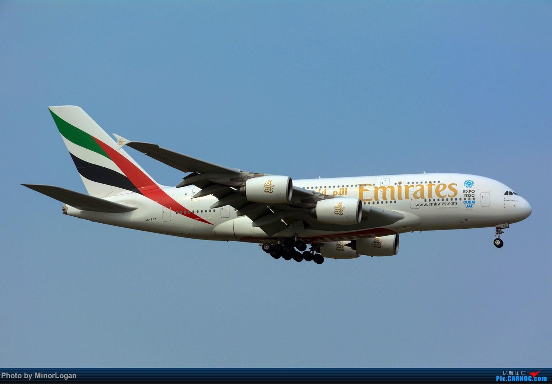Re:[原创]晴间多云,浦东拍机 AIRBUS A380-800 A6-EEZ 上海浦东国际机场