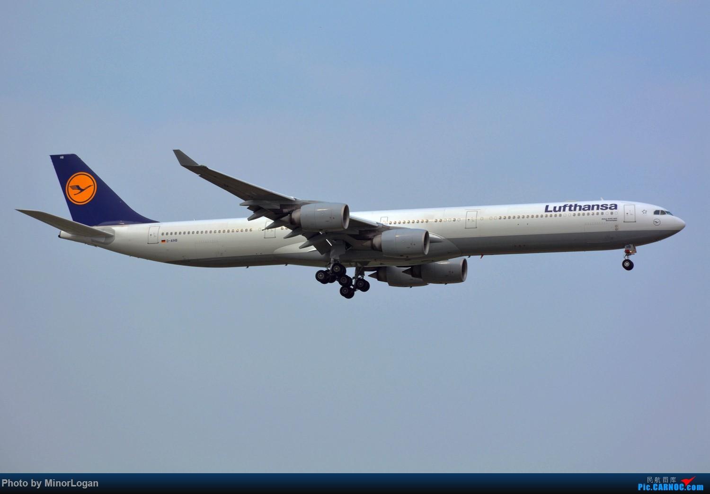 Re:[原创]晴间多云,浦东拍机 AIRBUS A340-600 D-AIHB 上海浦东国际机场