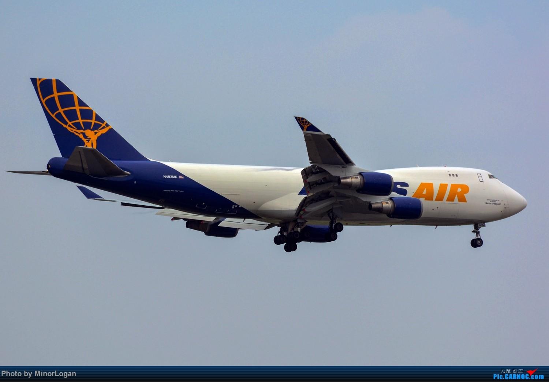 Re:[原创]晴间多云,浦东拍机 BOEING 747-400 N492MC 上海浦东国际机场