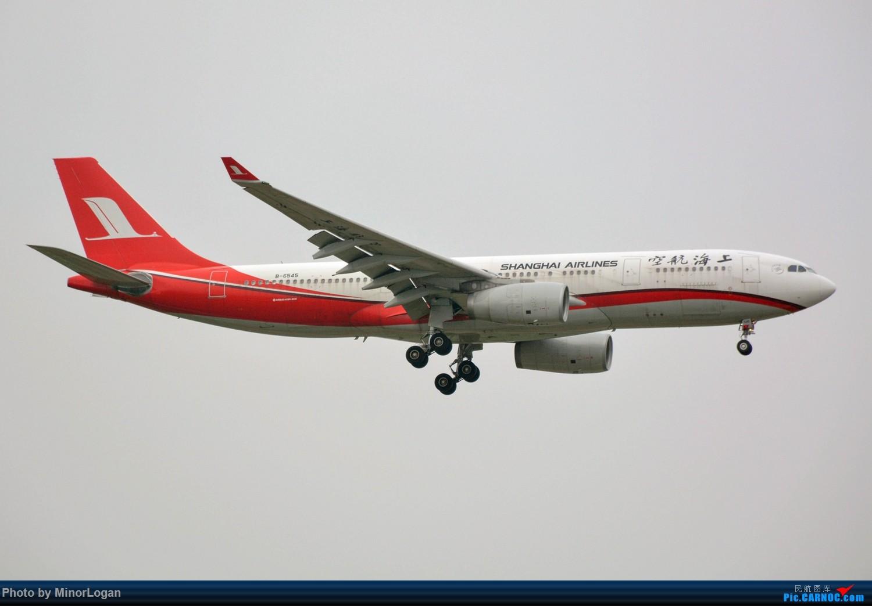Re:[原创]晴间多云,浦东拍机 AIRBUS A330-200 B-6545 上海浦东国际机场