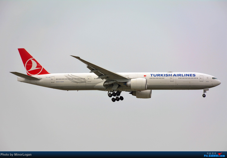 Re:[原创]晴间多云,浦东拍机 BOEING 777-300ER TC-JJR 上海浦东国际机场