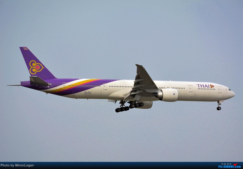 Re:[原创]晴间多云,浦东拍机 BOEING 777-300ER HS-TKQ 上海浦东国际机场