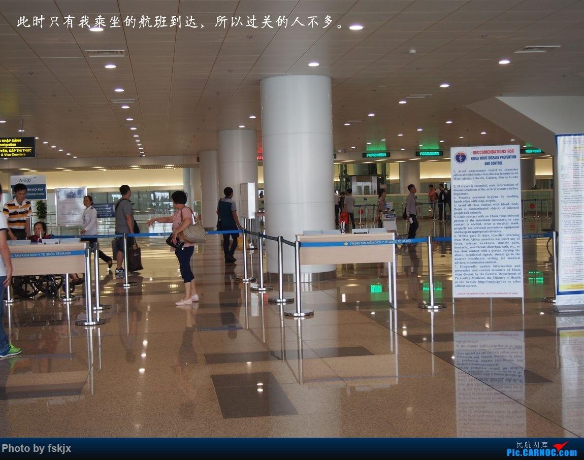 越走越南 越南越美(上) EMBRAER E-190 B-3210 越南河内内拜机场 越南河内内拜机场