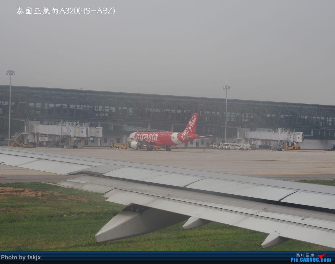 越走越南 越南越美(上) AIRBUS A320 HS-ABZ 越南河内内拜机场
