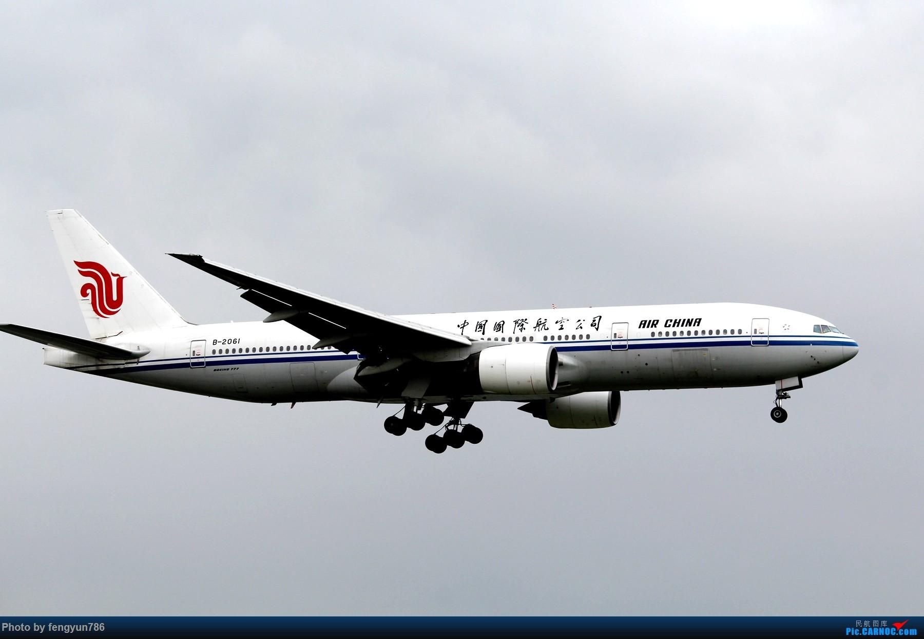 Re:[原创]新人首贴,6.18 SHA流水账 BOEING 777-200 B-2061 中国上海虹桥国际机场