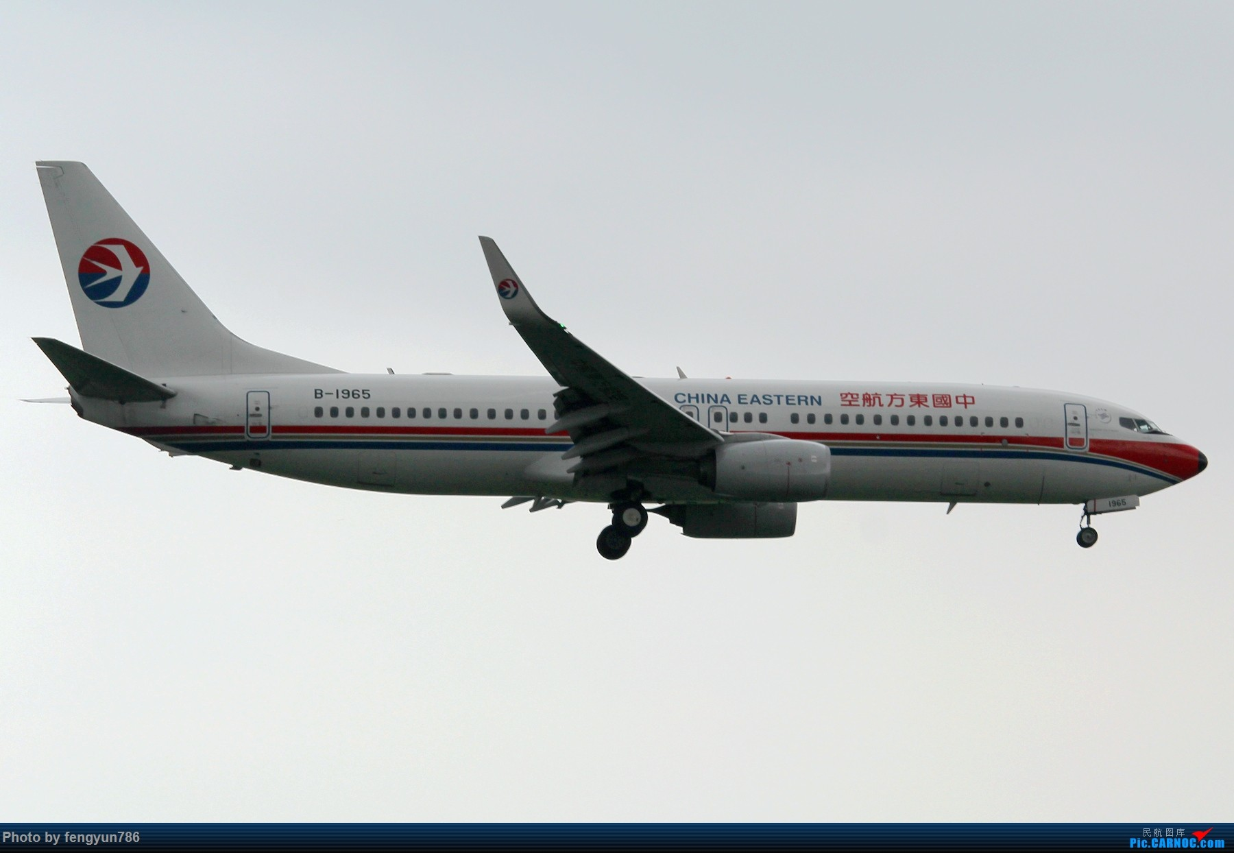 Re:[原创]新人首贴,6.18 SHA流水账 BOEING 737-800 B-1965 中国上海虹桥国际机场