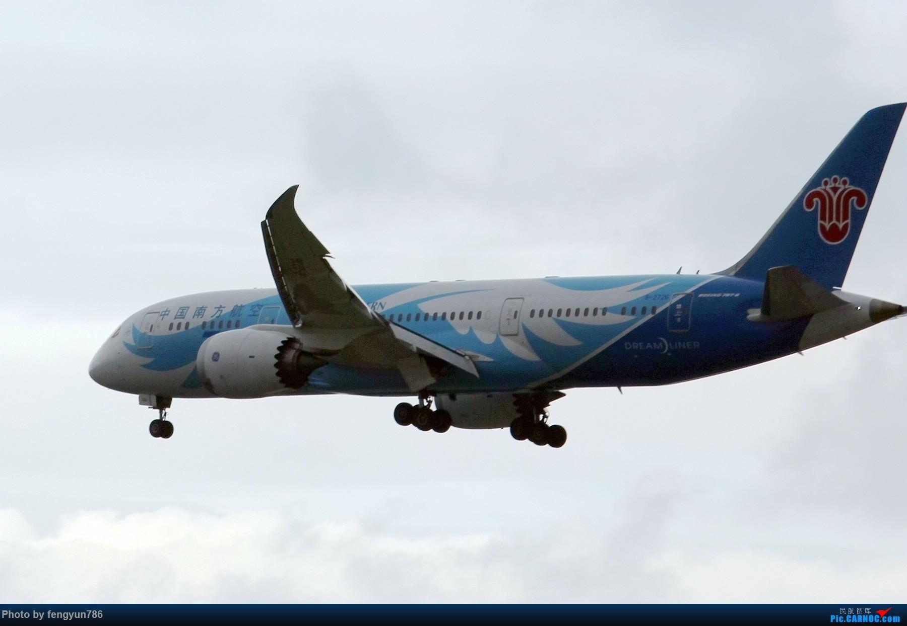 Re:[原创]新人首贴,6.18 SHA流水账 BOEING 787-8 B-2726 中国上海虹桥国际机场