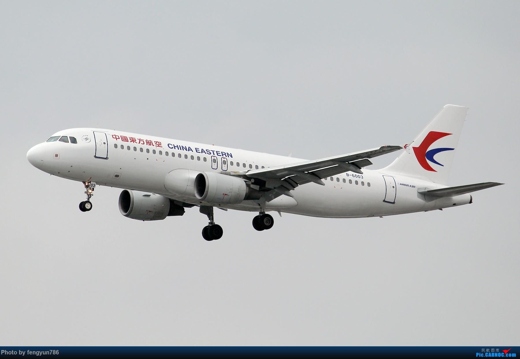 Re:[原创]新人首贴,6.18 SHA流水账 AIRBUS A320-200 B-6003 中国上海虹桥国际机场