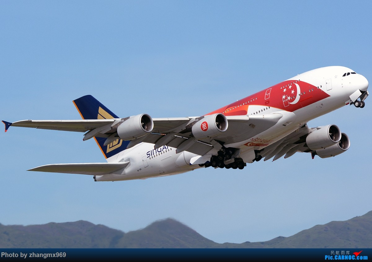 Re:[原创]香港拍机两天,烈日下膜拜维修区~~~多图~~~ AIRBUS A380-800 9V-SKI 中国香港赤鱲角国际机场