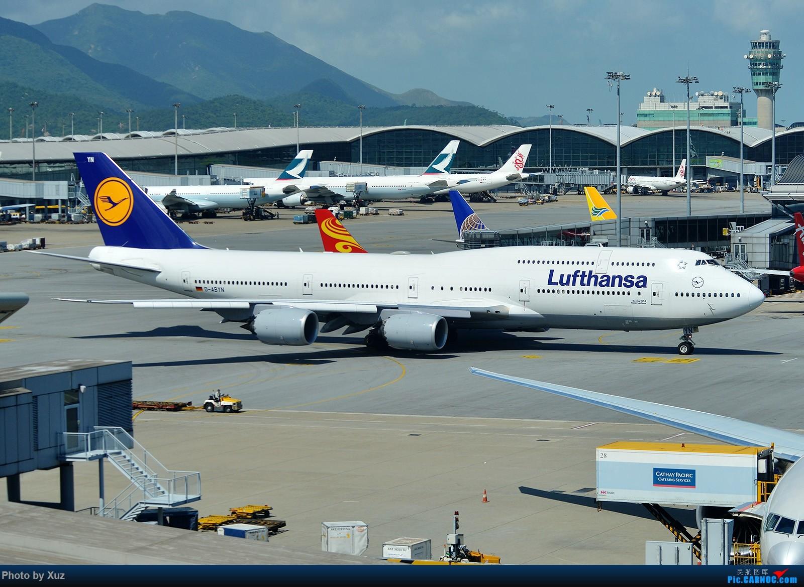 [原创]香港拍机之行 BOEING 747-800 D-ABYN 中国香港赤鱲角国际机场