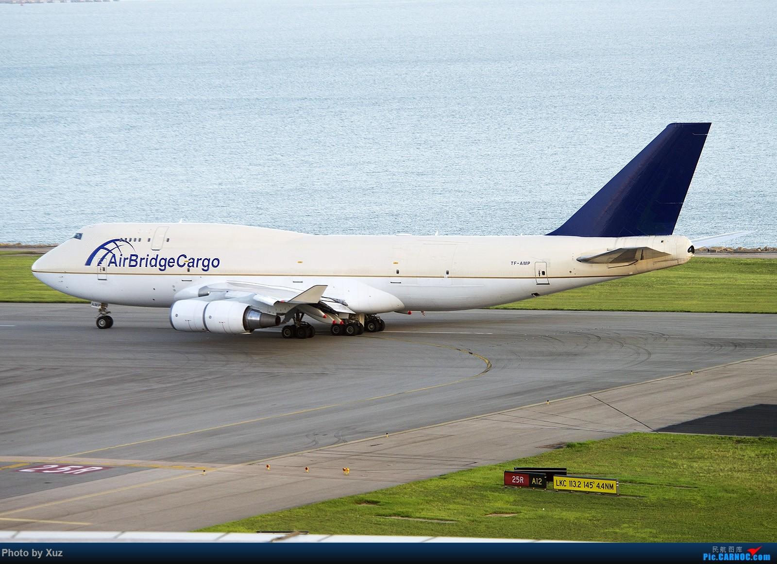Re:[原创]香港拍机之行 BOEING 747-400 TF-AMP 中国香港赤鱲角国际机场