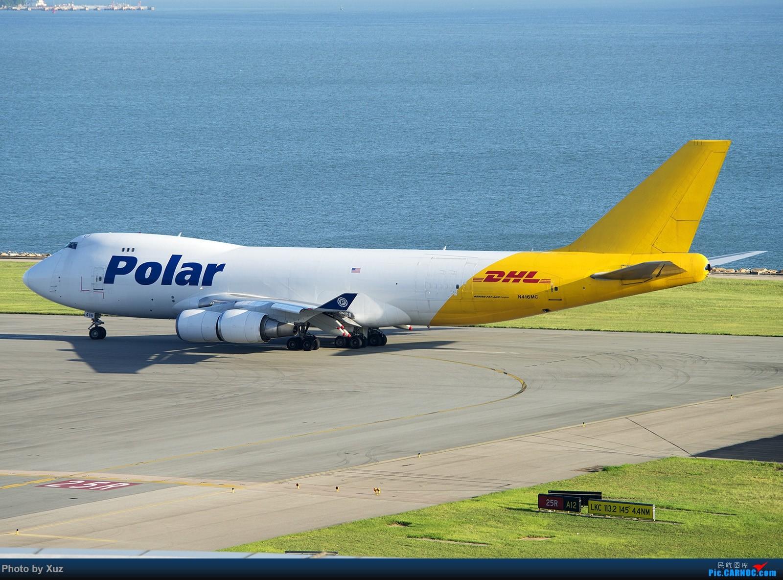 Re:[原创]香港拍机之行 BOEING 747-400 N416MC 中国香港赤鱲角国际机场