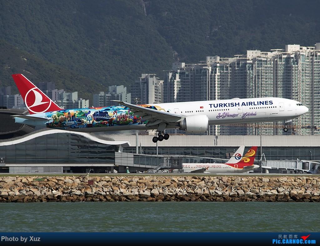 Re:[原创]香港拍机之行 BOEING 777-300ER TC-JJU 中国香港赤鱲角国际机场