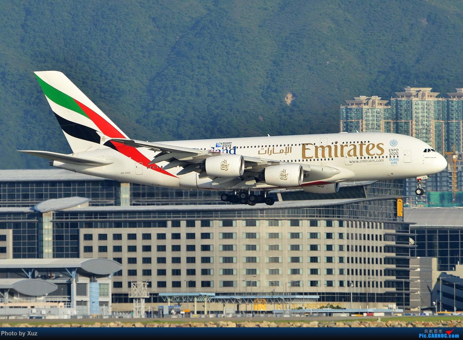 Re:[原创]香港拍机之行 AIRBUS A380-800 A6-EDQ 中国香港赤鱲角国际机场