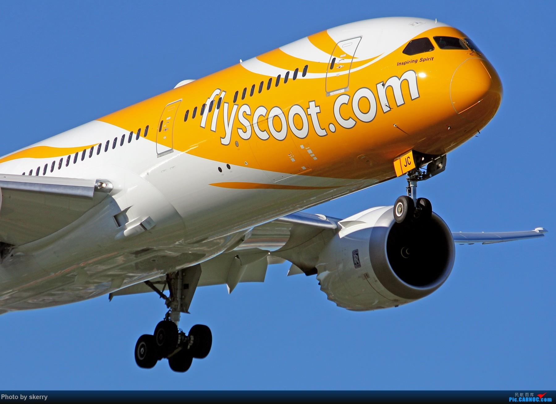 ��k��n�9ojzd��c�����f_*** boeing 787-9 9v-ojc 中国天津滨海国际机场