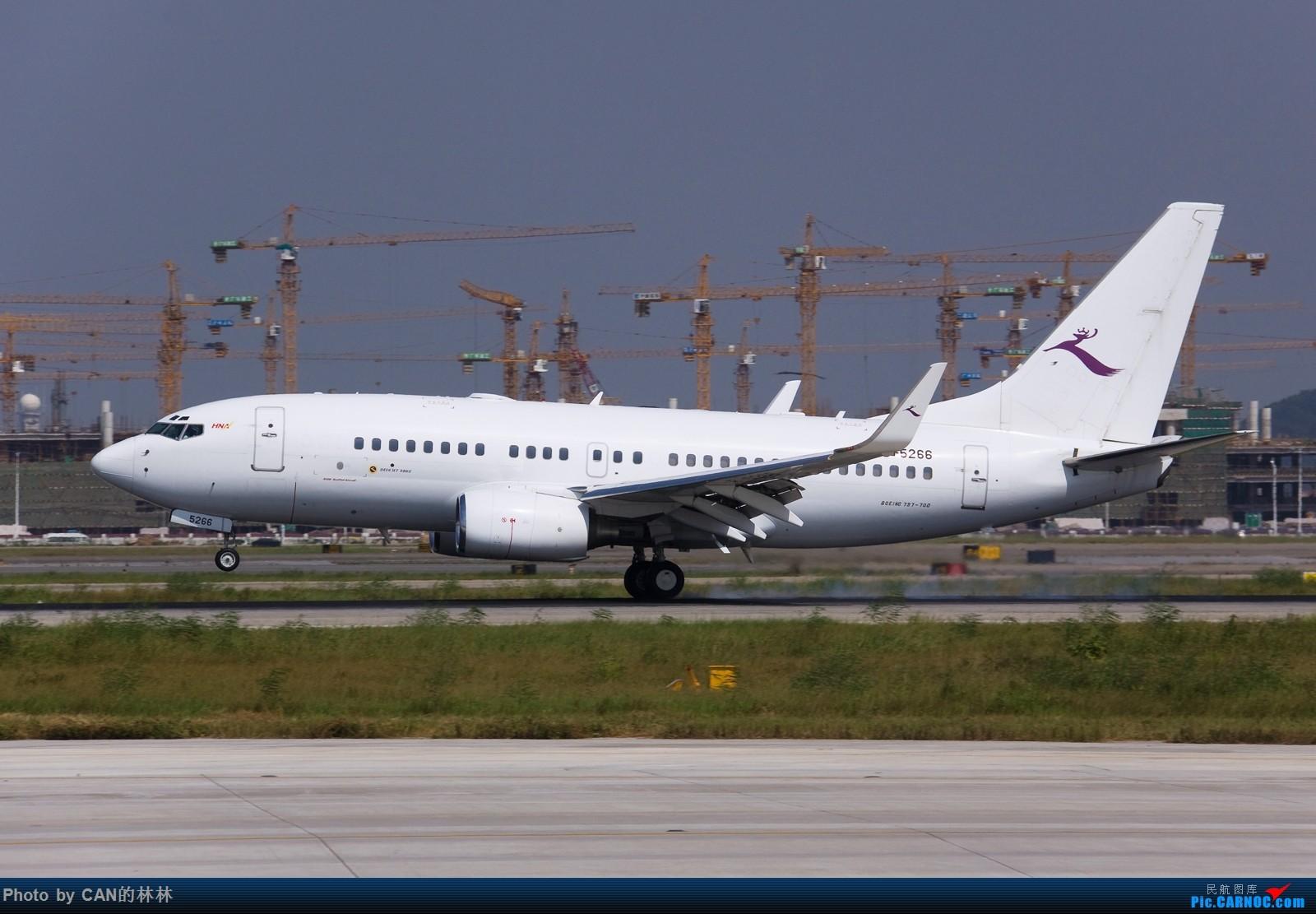 Re:[原创]~~~久未发图,飞机已用尽,来乞讨下~~~ BOEING BBJ B-5266 中国广州白云国际机场