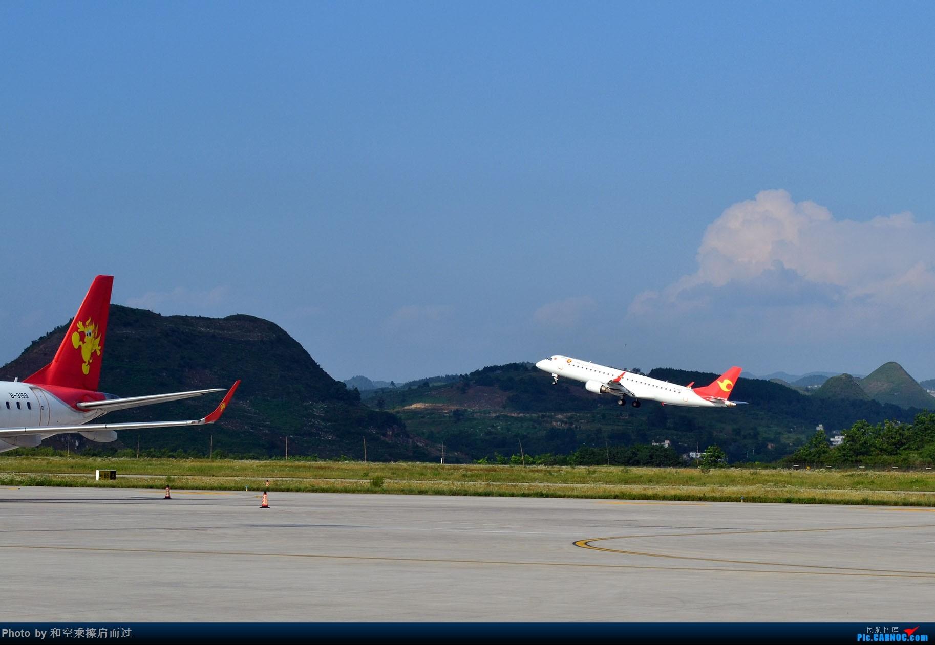 Re:[原创]【KWE】七月六日晴 KWE冒险打机 EMBRAER E-190 B-3159 中国贵阳龙洞堡国际机场