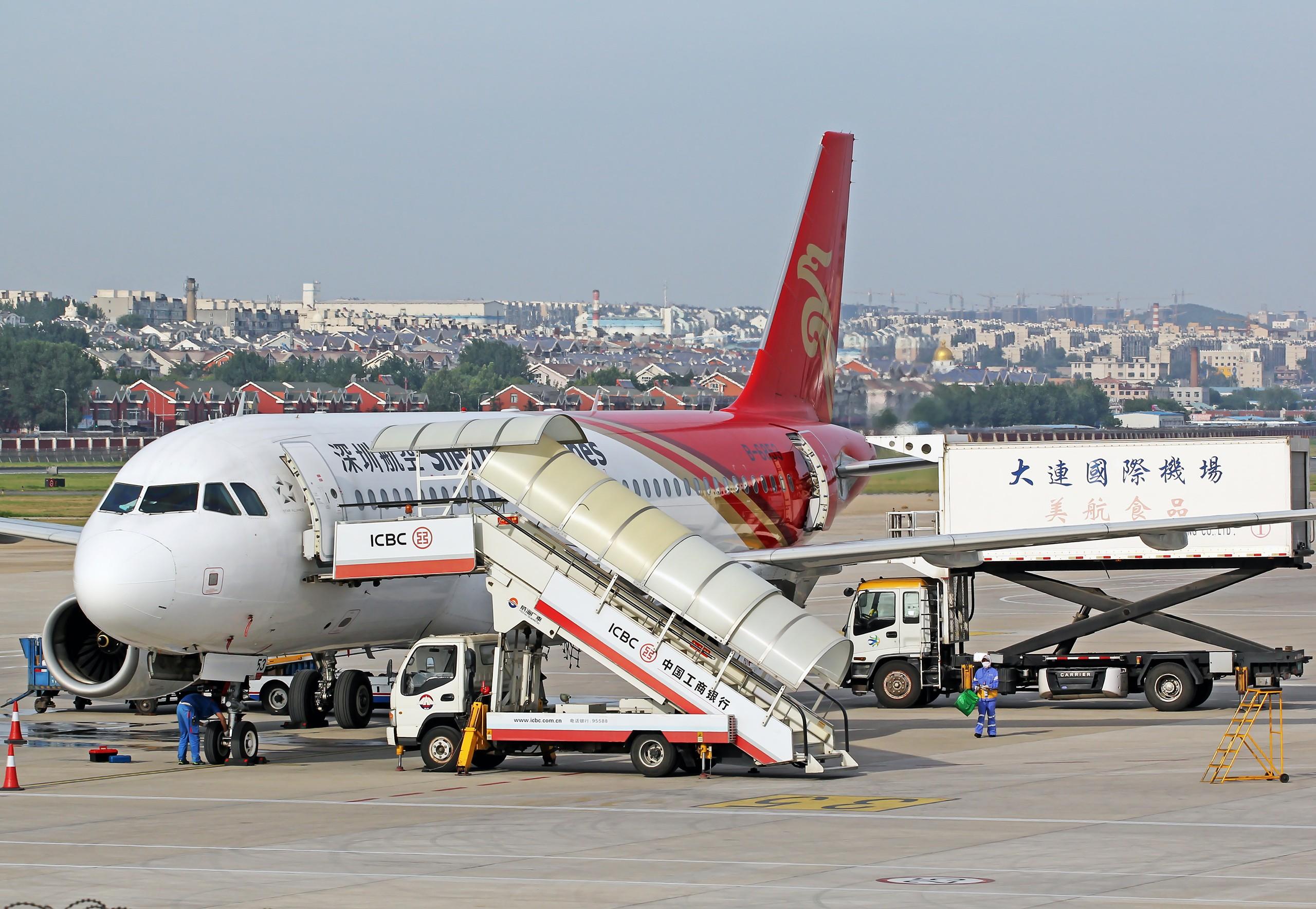 Re:[原创][DLC]。。。无标题。。。{2560x1707}Pix AIRBUS A320-200 B-6853 中国大连周水子国际机场