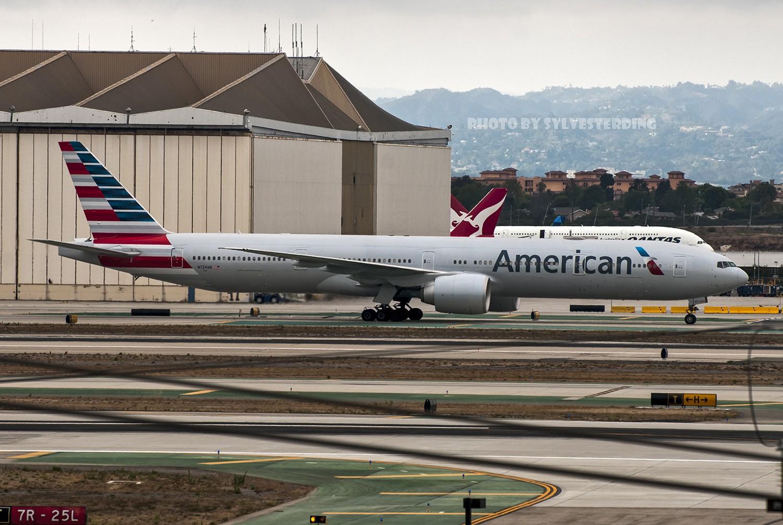 Re:[原创]【闲人伸少的小小世界19】一年半之后首次拍机,洛杉矶烂天中的国泰香港精神号,新装伊比利亚346,美联航789闪灯等等,附赠西雅图波特兰美景 BOEING 777-300ER N724AN 美国洛杉矶机场