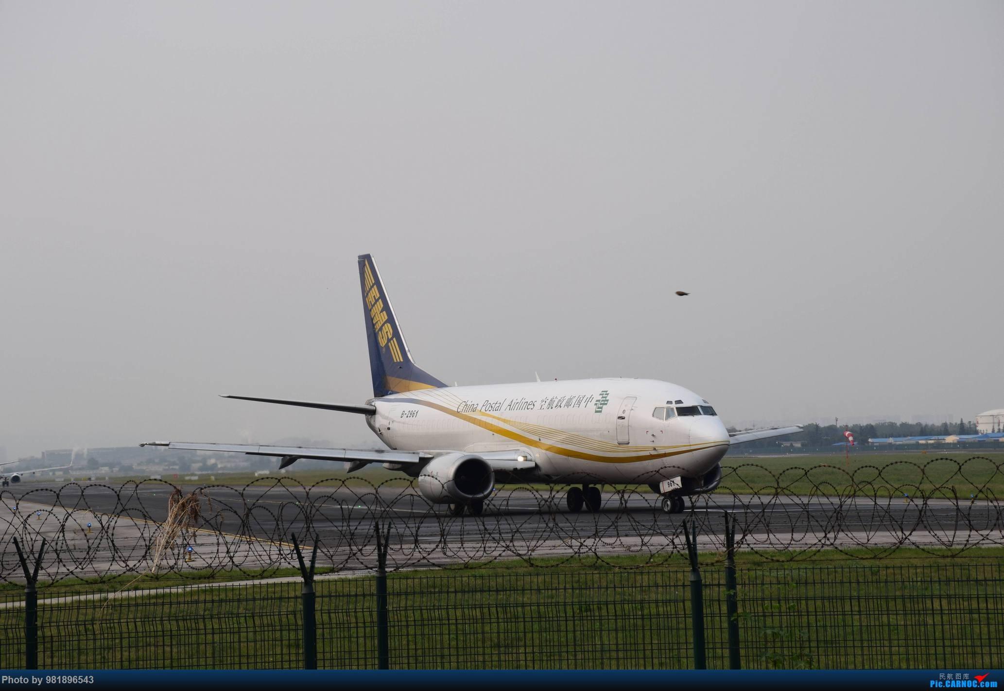 Re:[原创]【新人拍机】青岛周日的一天 BOEING 737-300 B-2961 中国青岛流亭国际机场