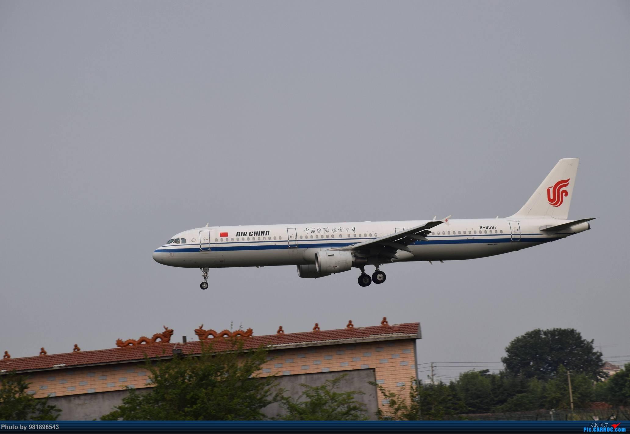 Re:[原创]【新人拍机】青岛周日的一天 AIRBUS A321-200 B-6597 中国青岛流亭国际机场