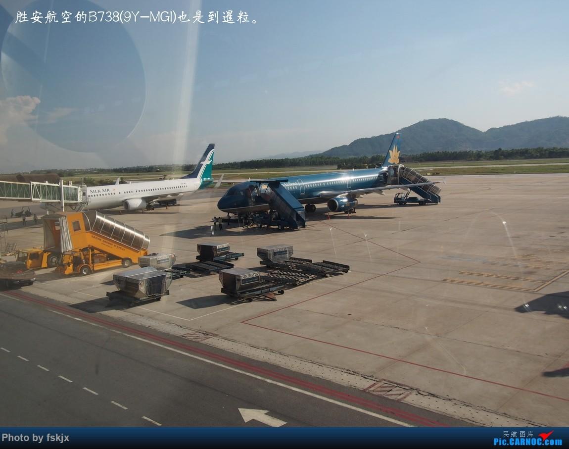 【fskjx的飞行游记☆15】越走越南 越南越美(下) BOEING 737-800 9Y-MGI 越南岘港机场