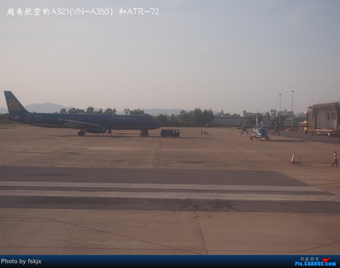 【fskjx的飞行游记☆15】越走越南 越南越美(下) AIRBUS A321 VN-A356 越南岘港机场