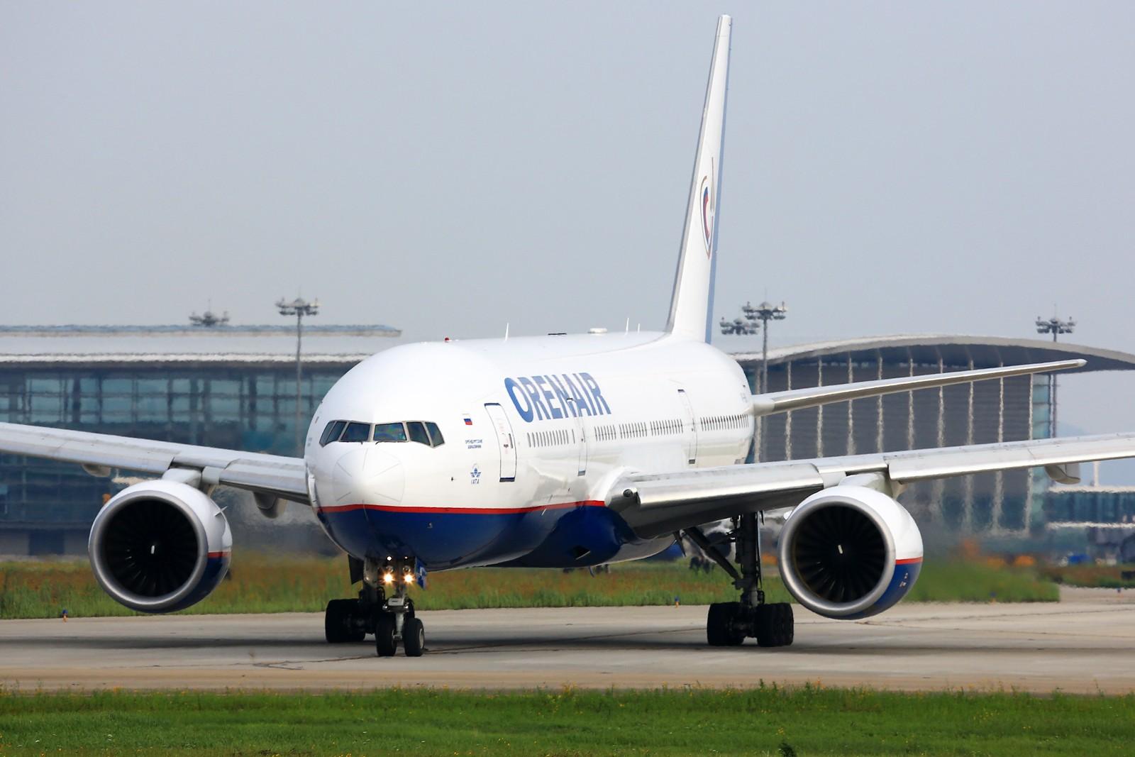 Re:[原创]【NKG】******小公园一天蹲到俩毛子:奥伦堡772+伏尔加第聂伯IL-76TD****** BOEING 777-200ER VP-BHB 中国南京禄口国际机场