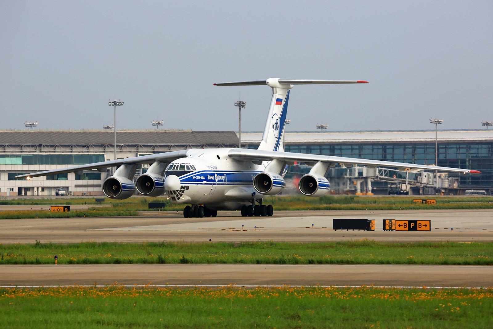 Re:[原创]【NKG】******小公园一天蹲到俩毛子:奥伦堡772+伏尔加第聂伯IL-76TD****** ILYUSHIN IL-76-TD-90VD RA-76503 中国南京禄口国际机场