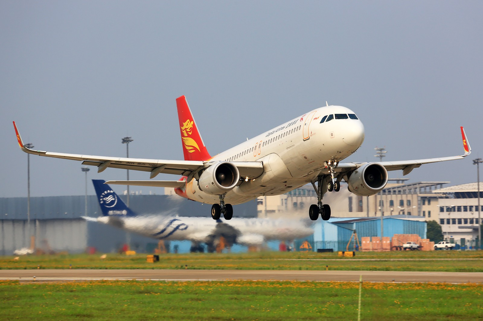 Re:【NKG】******小公园一天蹲到俩毛子:奥伦堡772+伏尔加第聂伯IL-76TD****** AIRBUS A320-200 B-9961 中国南京禄口国际机场