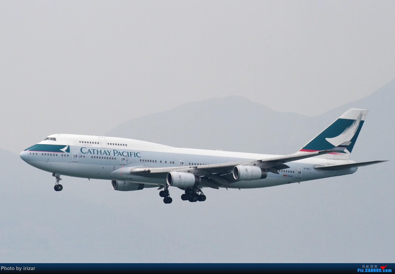 Re:[原创]第一次去HKG遇上烂天 BOEING 747-400 B-HUJ 中国香港赤鱲角国际机场